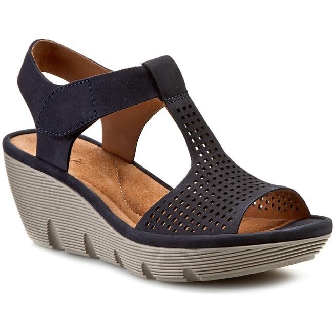 Sandals CLARKS - Clarene Diva 261060644 Navy
