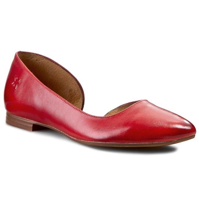 Flats MACIEJKA - 01295-30/00-1 Red