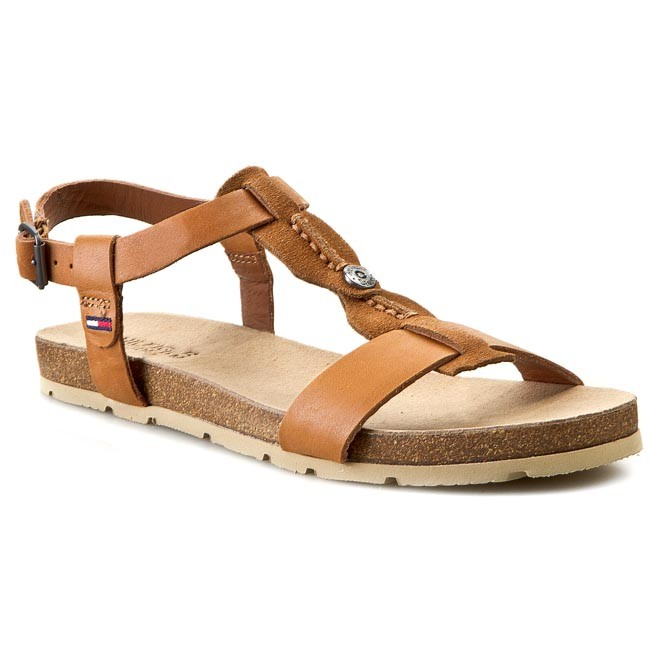 Sandals TOMMY HILFIGER - DENIM Sussex 3C EN56818704  Summer Cognac 929