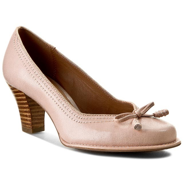 Shoes CLARKS - Bombay Lights 261059494 Blush Pink