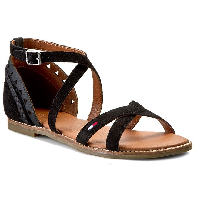 Sandals TOMMY HILFIGER - DENIM Suky 2C EN56818701  Black 990