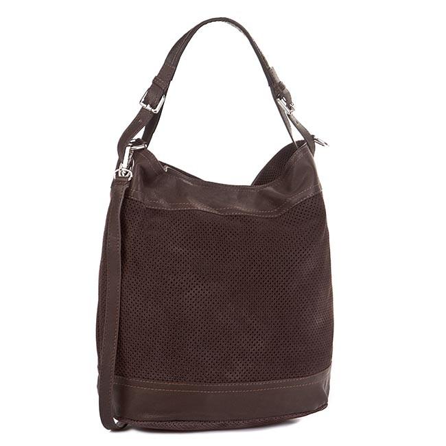 Handbag CREOLE - RBI10056 C.Brąz/C.Brąz
