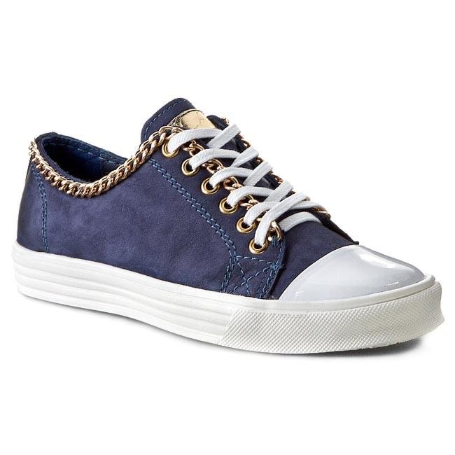 Shoes CARINII - B2788/N Samuel/Lakier Biały 1238