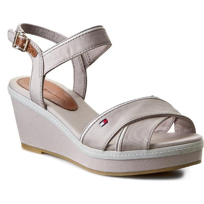 Sandals TOMMY HILFIGER - Elba 20D FW56818538 Light Grey 051