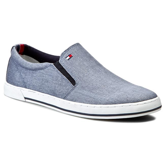 Plimsolls TOMMY HILFIGER - Harry 2E FM56819025 Cloud Blue 450