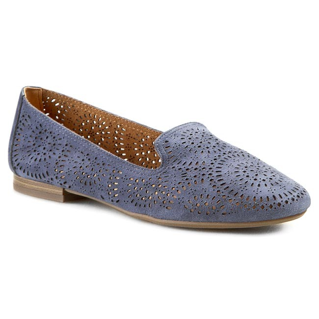 Lords CAPRICE - 9-24201-24 Blue Suede 868