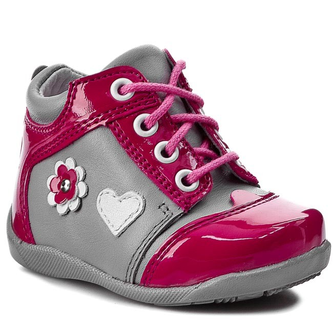 Shoes KORNECKI - 03590  N/Fuxia/S