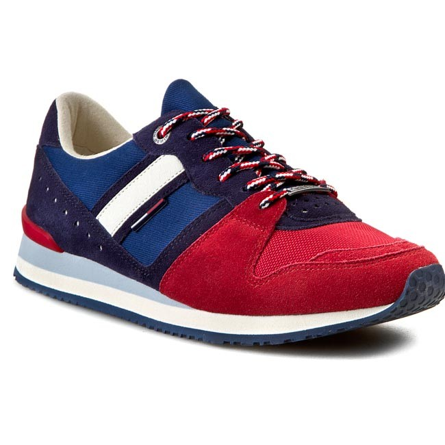 Sneakers TOMMY HILFIGER - DENIM - Roan 1C-1 EM56818778  Corporate Mix 924