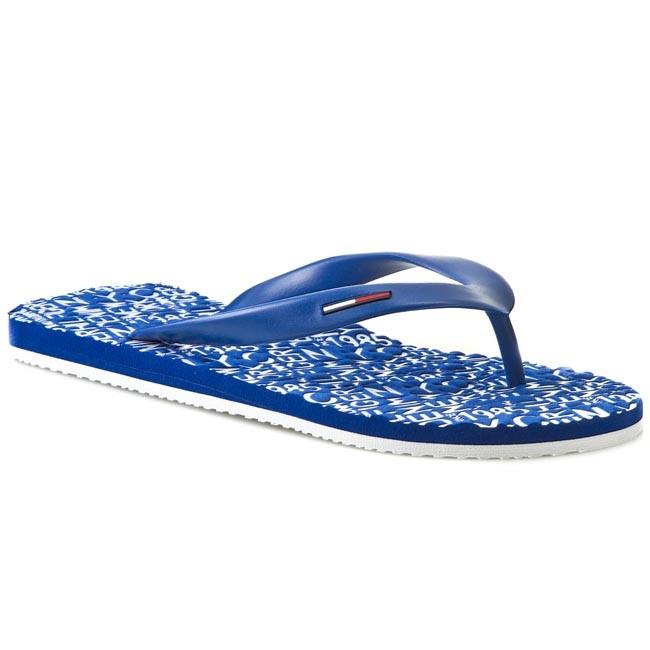 Slides TOMMY HILFIGER - DENIM - Bobby 6 EM56818560  Monaco Blue 479