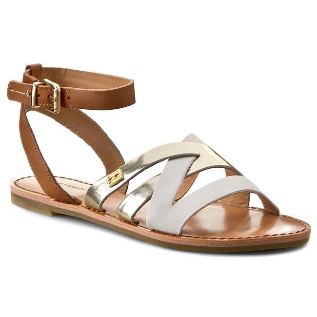 Sandals TOMMY HILFIGER - Julia 34A FW56818695  Summer Cognac/Whisper White/ L 929