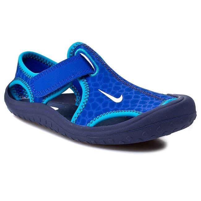 Sandals NIKE - Sunray Protect 344926 409 Lyon Blue/White Mid/Nvy Bl Lgn