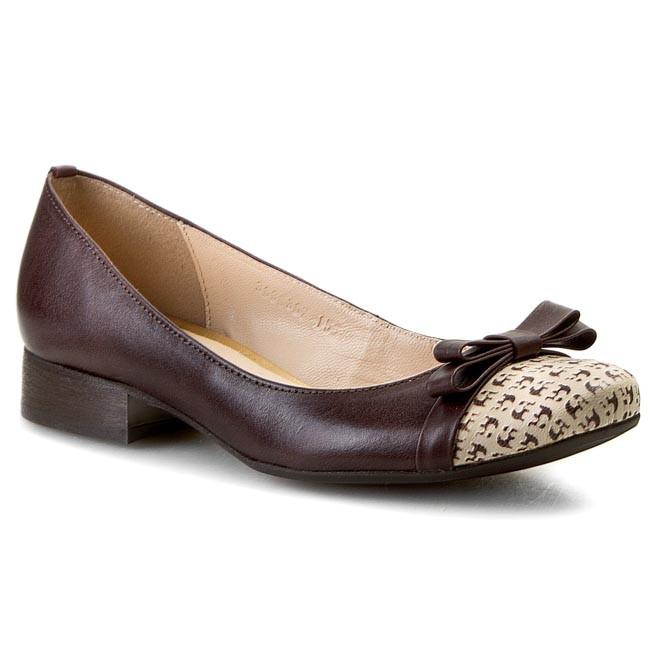 Shoes A.J.F. - B0363  Beż 586/Brąz 620