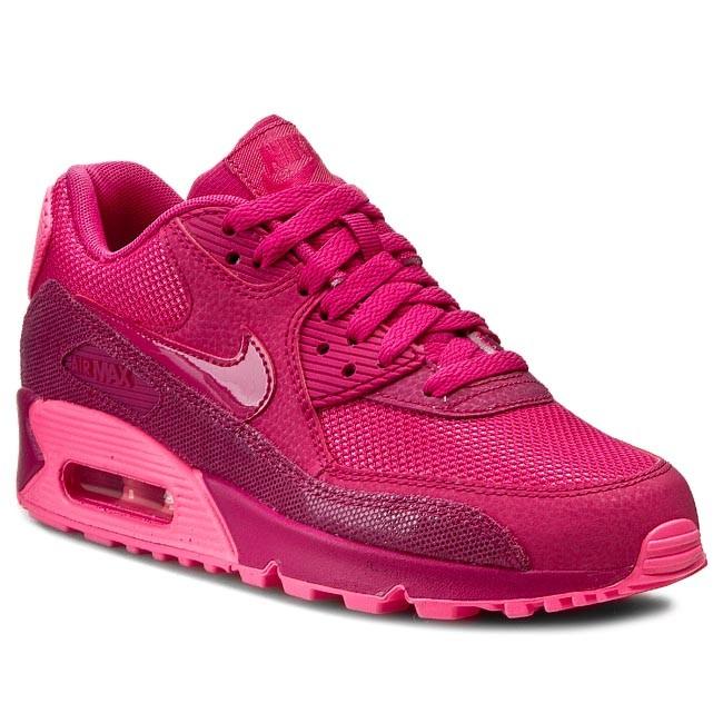 Shoes NIKE - WMNS Air Max 90 Prem 443817 600 Fireberry/Pink Pow