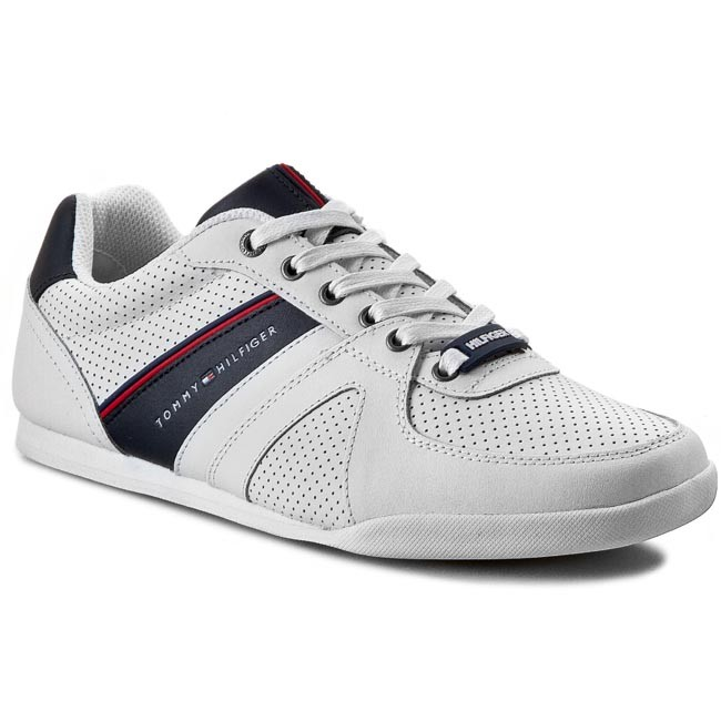 Sneakers TOMMY HILFIGER - Riley 2A FM56819001 White/Midnight 100