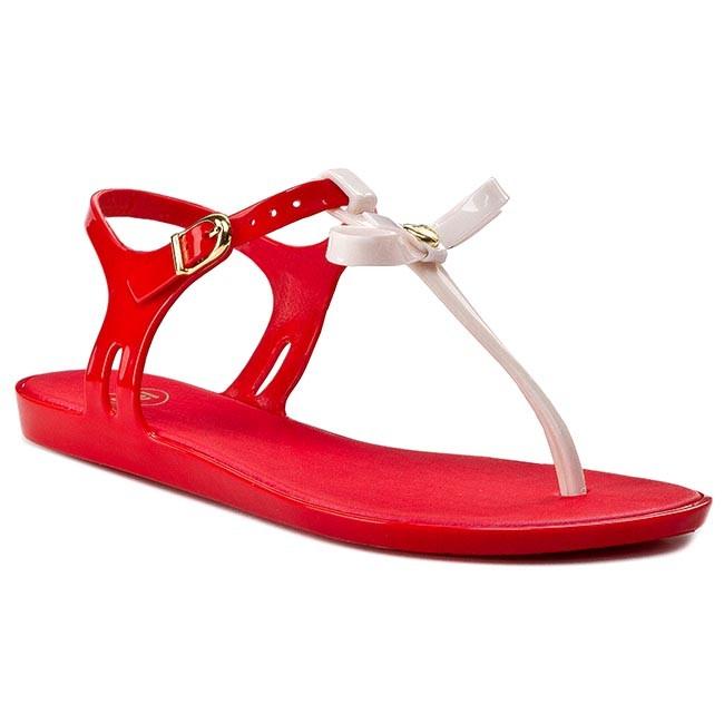 Slides MEL BY MELISSA - Mel Special II Sp Ad 31532 Red/Beige 52621