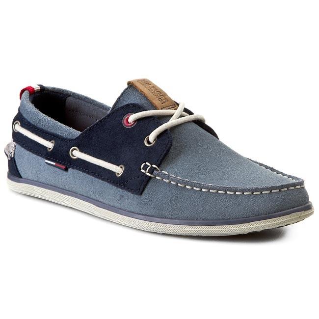 Moccasins TOMMY HILFIGER - DENIM Miles 1B-2 EM56818556  Jeans/Blue Graphite/Off White 935