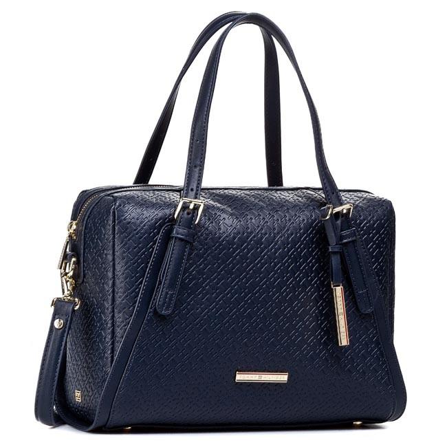 Handbag TOMMY HILFIGER - Dominique Duffle BW56927416 Midnight 403