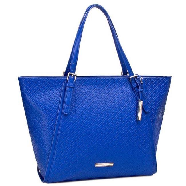 Handbag TOMMY HILFIGER - Dominique EW TOTE BW56927418 Monaco Blue 479