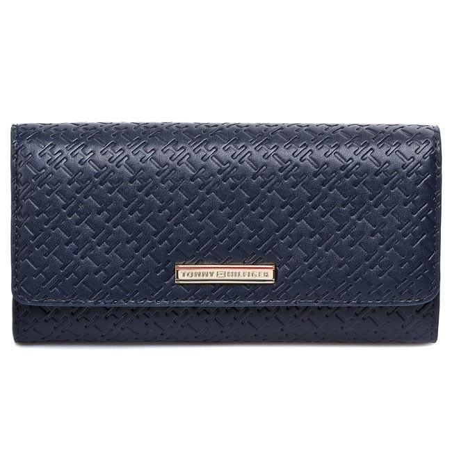 Large Women's Wallet TOMMY HILFIGER - Dominique Large Ew Wallet BW56927335 403