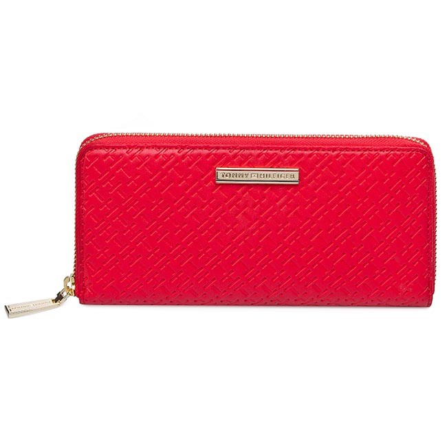 Large Women's Wallet TOMMY HILFIGER - Dominique Large Za Wallet BW56927336 283