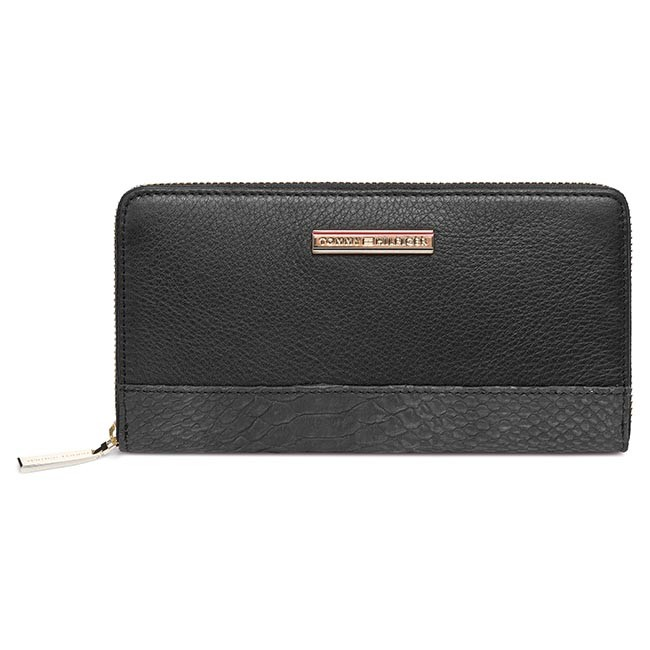 Large Women's Wallet TOMMY HILFIGER - Nina Large Za Wallet BW56927345 990