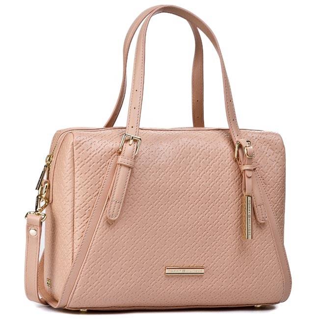 Handbag TOMMY HILFIGER - Dominique Duffle BW56927416 Dusty Rose Pt 614
