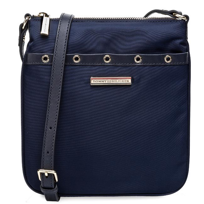 Handbag TOMMY HILFIGER - Heather Flat Crossover BW56927439 Midnight 403
