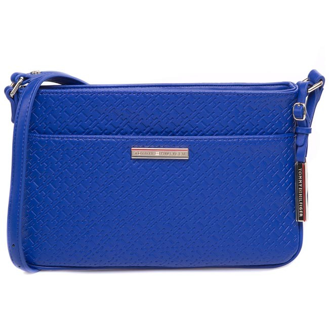 Handbag TOMMY HILFIGER - Dominique Ew Flat Crossover BW56927417 Monaco Blue 479