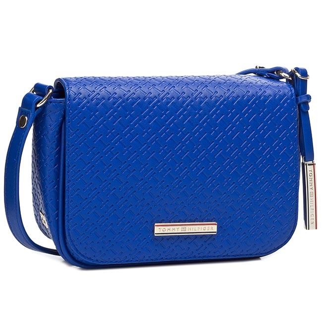 Handbag TOMMY HILFIGER - Dominique Flap Crossover BW56927419 Monaco Blue 479