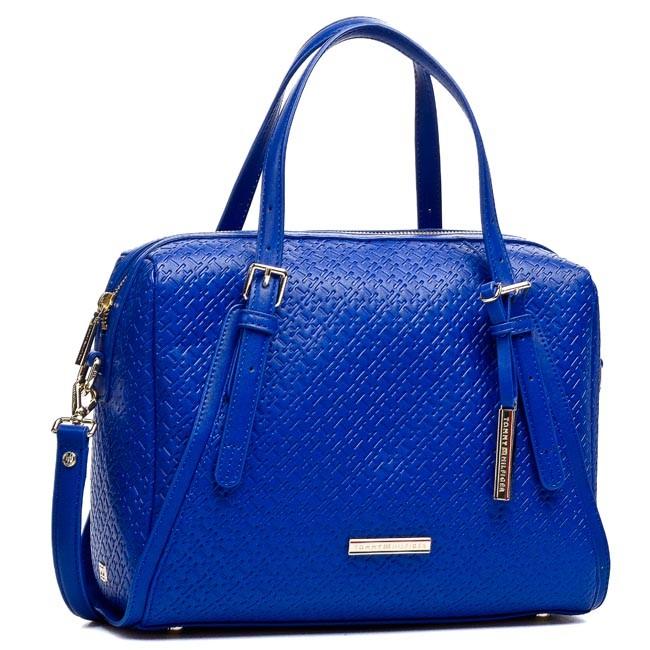 Handbag TOMMY HILFIGER - Dominique Duffle BW56927416 Monaco Blue 479