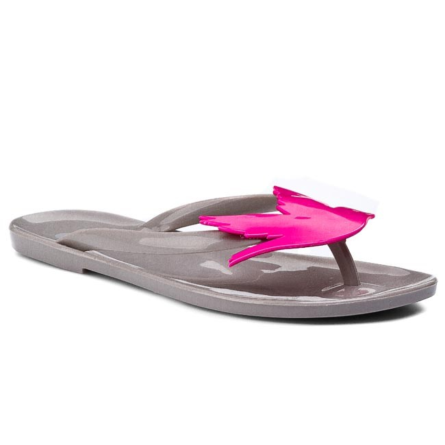 Slides MEL BY MELISSA - Mel Lilly Pilly Sp Ad 32134 Grey/Pink 52493