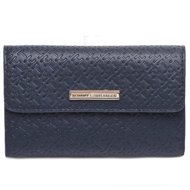 Large Women's Wallet TOMMY HILFIGER - Dominique Large Zip W/Flap BW56927337 403