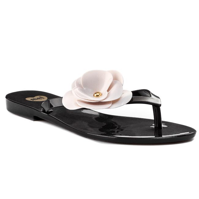 Slides MEL BY MELISSA - Mel Honey IV Sp Ad 31531 Black/Beige 51496