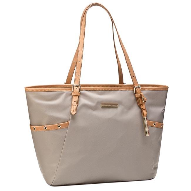 Handbag TOMMY HILFIGER - Heather Ew Tote BW56927438 Oxford Tan Pt 279