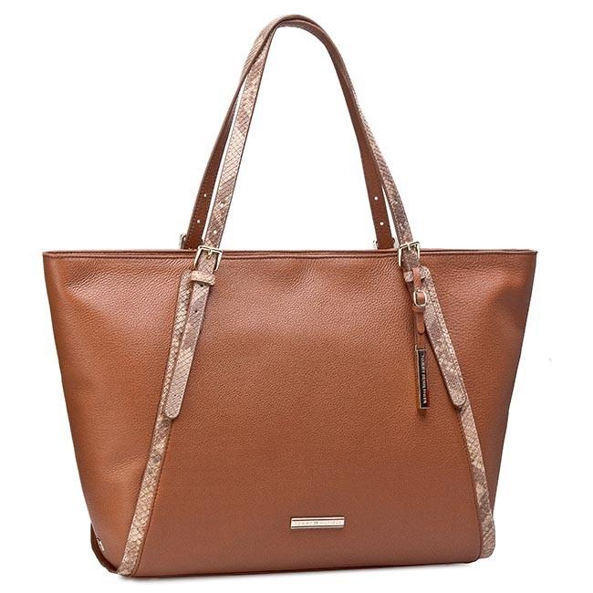 Handbag TOMMY HILFIGER - Nina EW Tote BW56927477 Summer Cognac 929