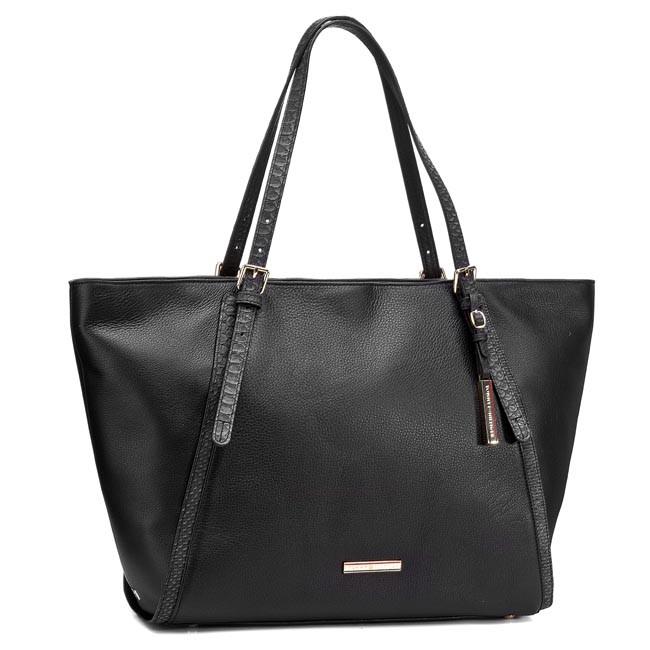 Handbag TOMMY HILFIGER - NIna EW Tote BW56927477 Black 990