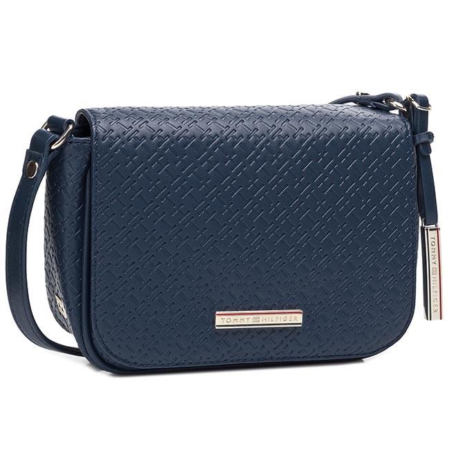 Handbag TOMMY HILFIGER - Dominique Flap Crossover BW56927419 Midnight 403
