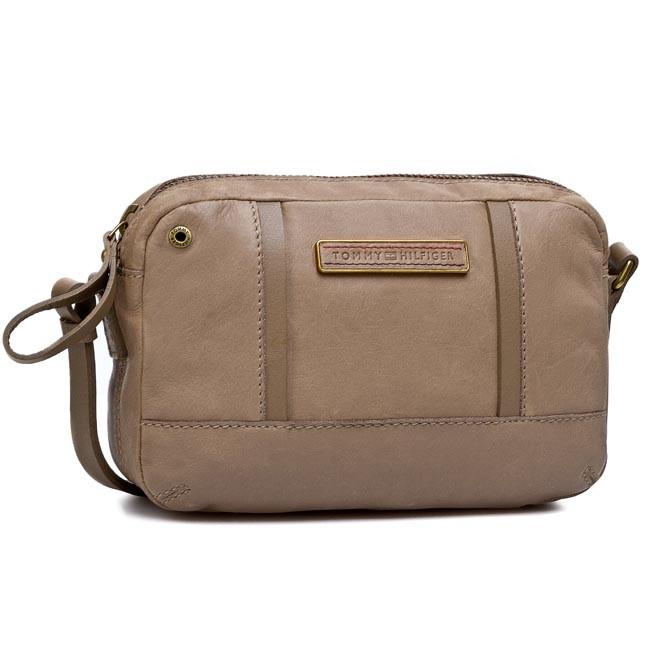 Handbag TOMMY HILFIGER - Cas-Houston Small Crossover Smoke 074
