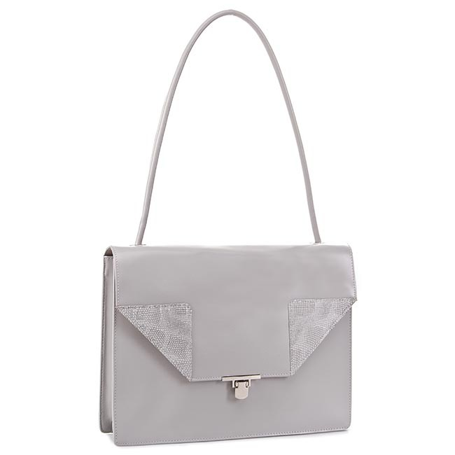 Handbag GINO ROSSI - XT2652-ELB-GGBG-8500-T M Grey