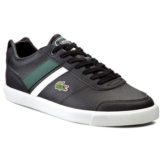Shoes LACOSTE - Comba Pri Spm 7-29SPM00141R6 Black/Dark Green