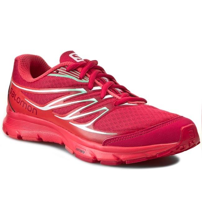 Shoes SALOMON - Sense Link W 373286 20 W0 Lotus Pink/Papaya B/Lucite Green