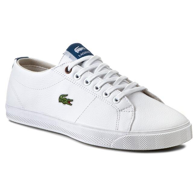 Shoes LACOSTE - Marcel Csu Spj 7-29SPJ0106X96 White/Dark Blue