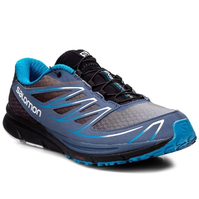 Shoes SALOMON - Sense Mantra 3 370905 29 W0 Blue Gris/Black/Boss Blue