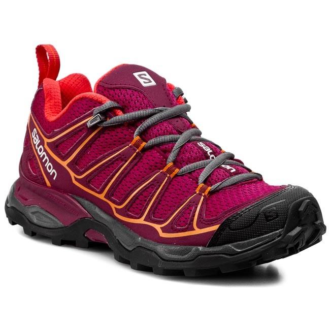 Trekker Boots SALOMON - X Ultra Prime W 371677 20 V0 Carmine/Bordeaux/Orange Feeling