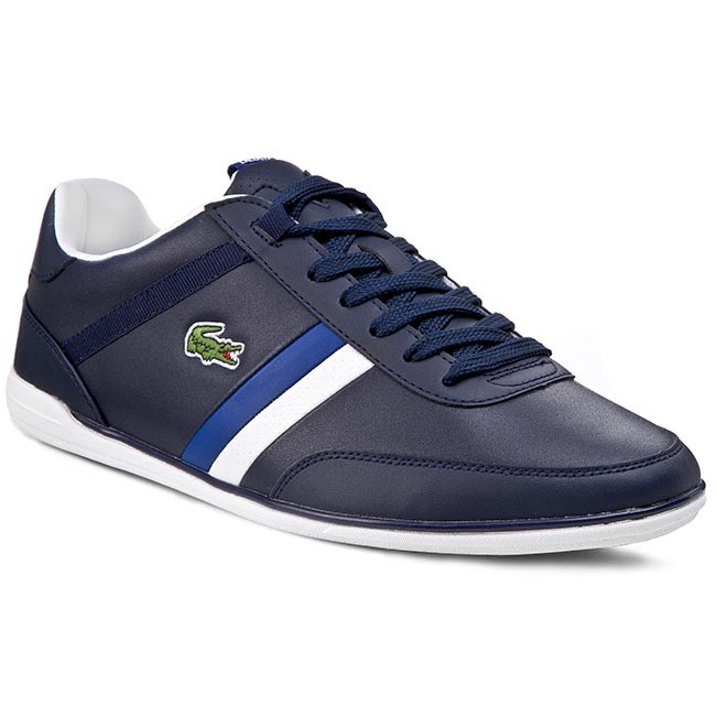 Shoes LACOSTE - Giron Pri Spm 7-29SPM0024121 Dark Blue/White