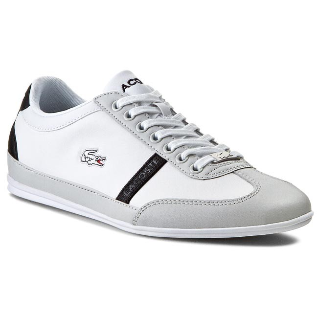 Shoes LACOSTE - Misano Sporty Scy Spm 7-29SPM004014X White/Light Grey