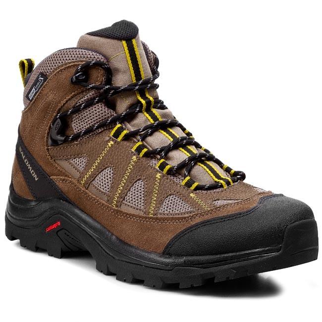 Trekker Boots SALOMON - Authentic Ltr Cs Wp 366665 29 V0 Shrew/Burro/Ray