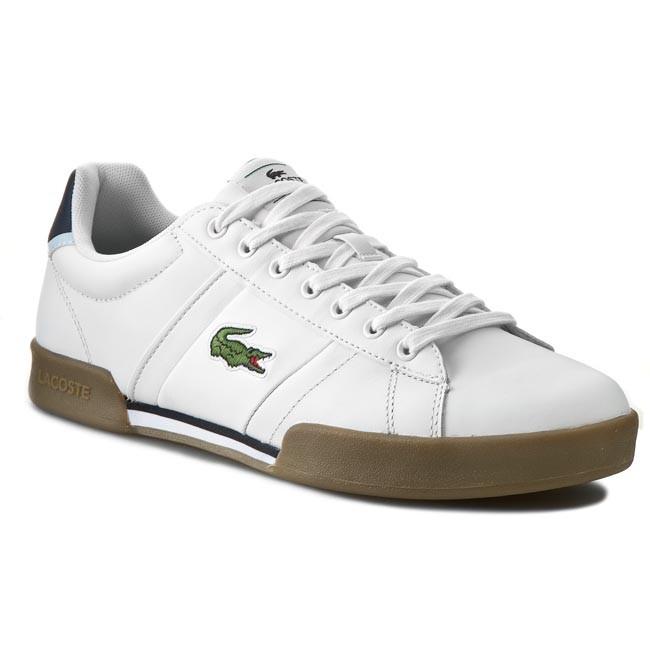 Shoes LACOSTE - Deston Grv Spm 7-29SPM0015291 White/Tan