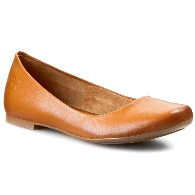 Flats MACIEJKA - SZ903-29/00-1 Brown