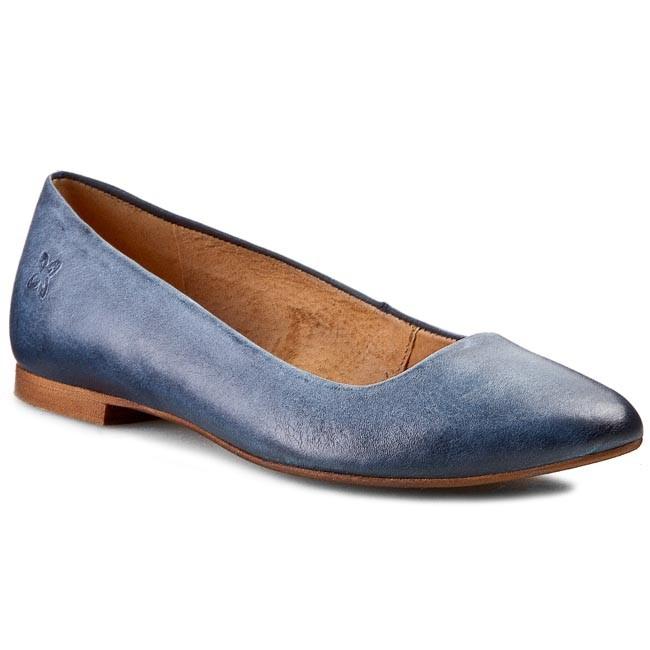 Flats MACIEJKA - SZ873-35/00-1 Azul Niebieski